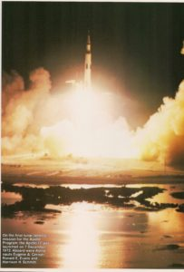 Apollo 17 lunar landing mission
