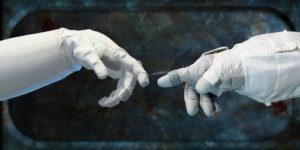 Robonauts in contact