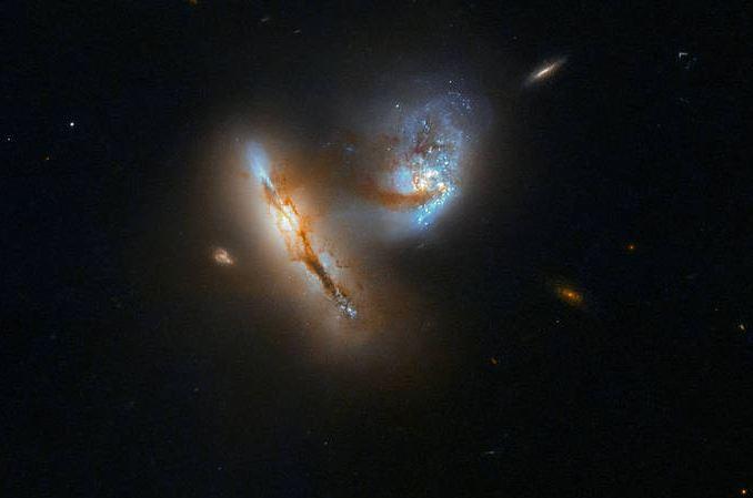 UGC-2369-galaxy pair in space